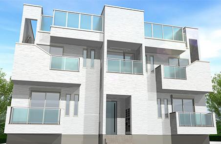 アパートの概念を超えた住空間 GRANTIC