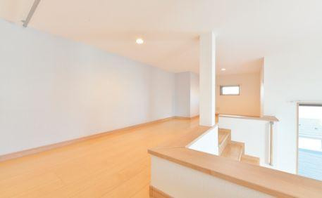 ロフトスペースは寝室+αの特別な空間です